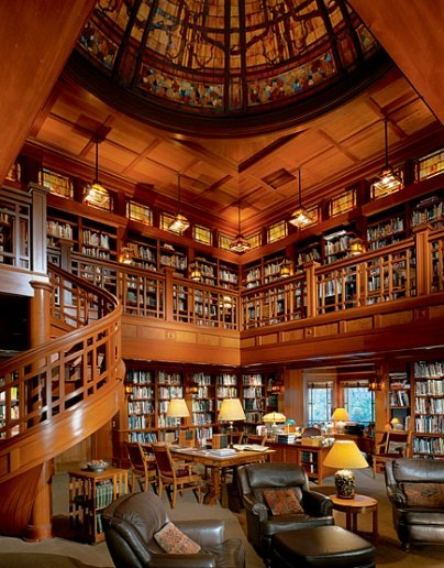 George Lucas' Library, Marin County, California