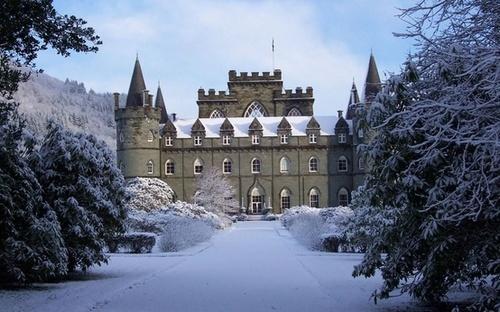 Snow Castle, Inveraray, Scotland